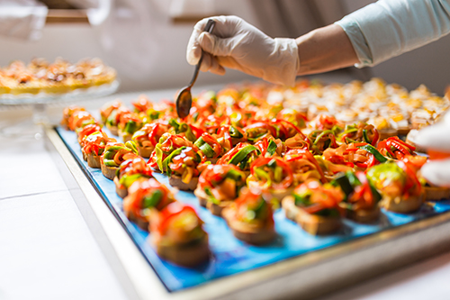 Sales systems for closing more restaurant catering business
