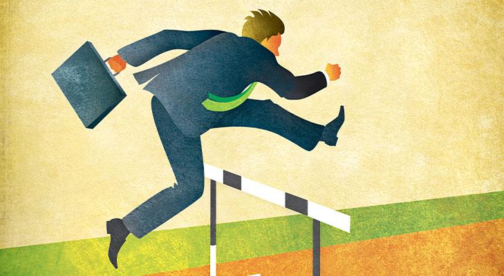 Hurdles changing careers