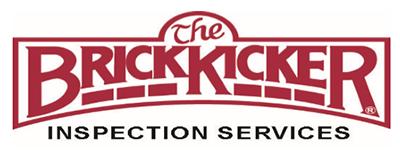 The BrickKicker logo