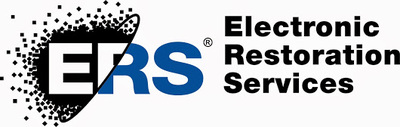 ERS (Electronic Restoration Services) logo