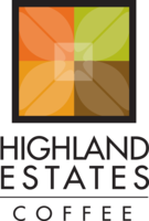 Highland Estates Coffee Traders logo