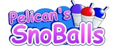Pelican's SnoBalls logo